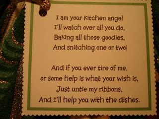 dish towel angel poem | this is the angel poem attached to all the dish towels angels