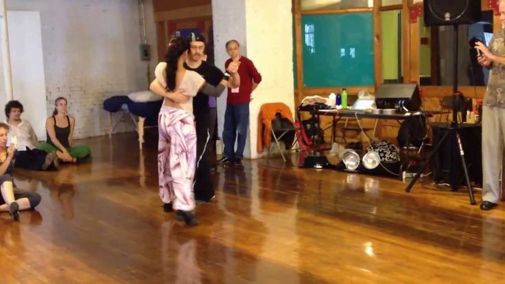 Tango Lesson: Changes of Direction (Intermediate/Advanced)