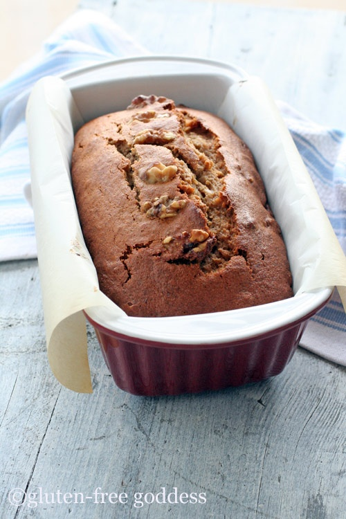 A new banana nut bread that rocks.