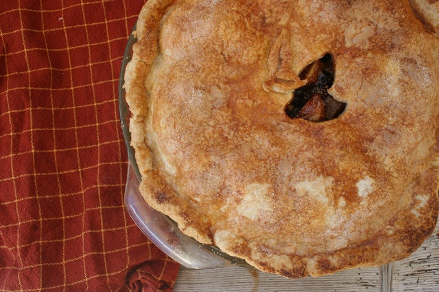 Nothing-in-the-House: Pear & Cardamom-Fig Pie