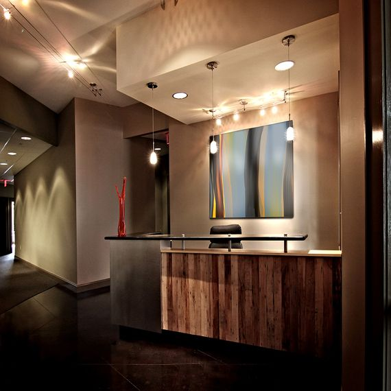 ikea medical office design | Law office desk, law office front desk medical office ...