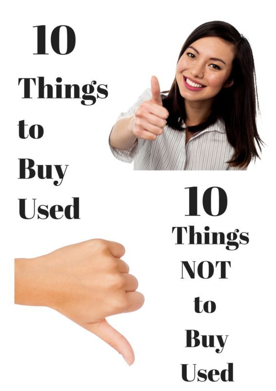 Let's face it; buying used items is a usually good way to save money on purchases. However, the best way you can save money on certain items is to buy things that are brand spanking new. Some items simply are not meant to be reused, and it is time that you learned what these items are. Save yourself time, money, and health by reading what eBay has to say about which secondhand items you should steer clear of.