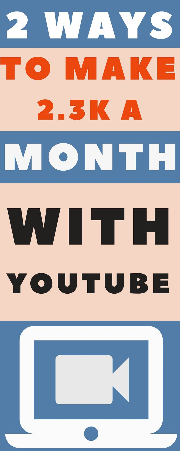 Learn to make money online and a full time living using youtube and email marketing. Super simple and straight forward method. #BlogTraffic #YouTube #emailMarketing