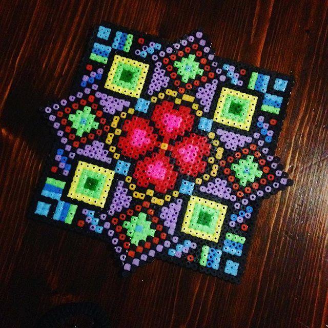 Coaster hama beads by  radiant_eclipse_6