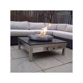 Costco: Urban Fire -2- LUX Black Granite Top Outdoor ... on Costco Outdoor Fireplace id=62692