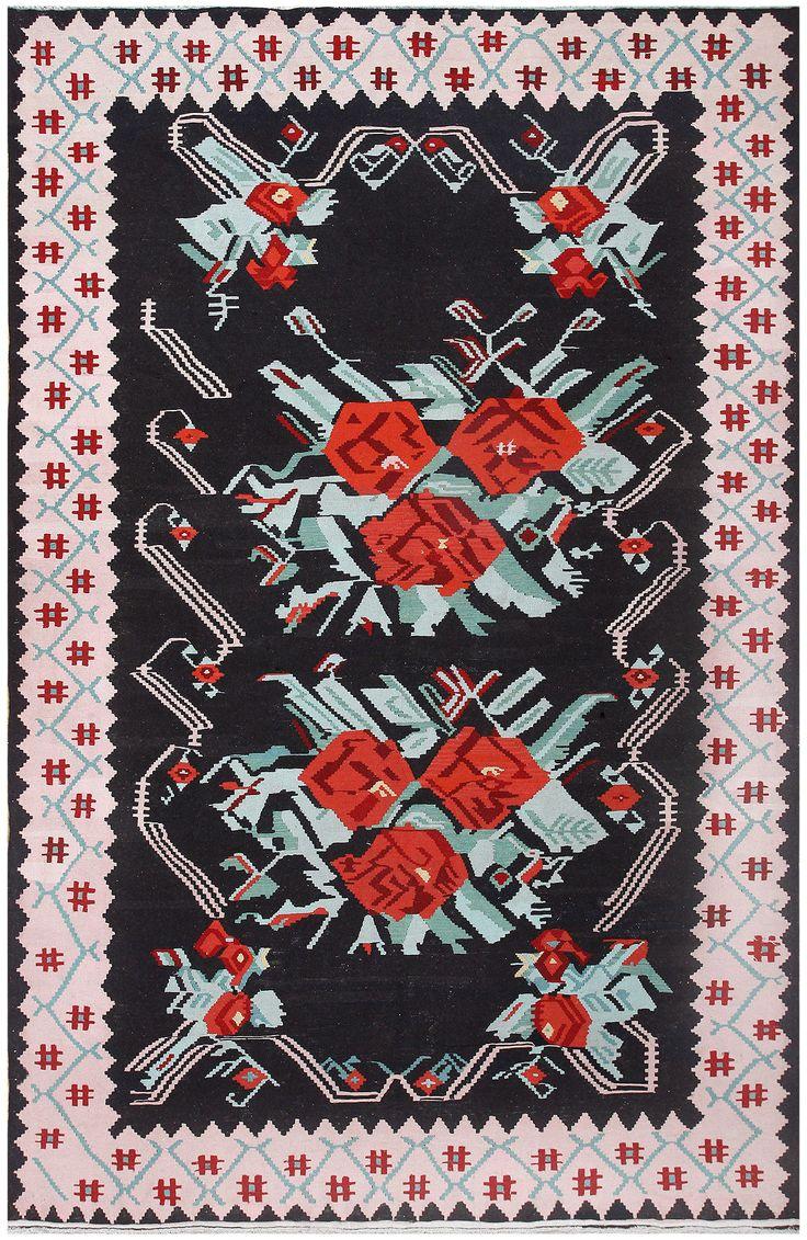 Vintage Turkish Kilim 50323
