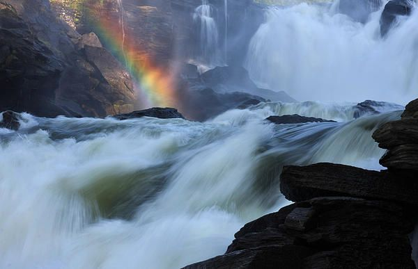 Rainbow River ... northern Sweden by Simon Alvinge