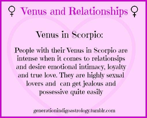 venus in scorpio quotes a relationship