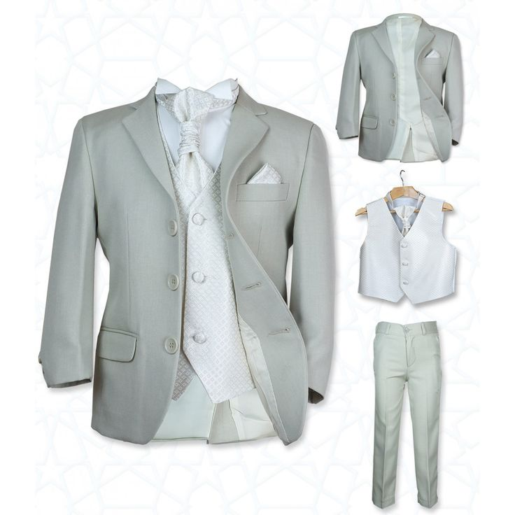 SIRRI Boys' Suits, Girls' Dresses | Boys Wedding Beige & Ivory Suit | Boys Wedding Suits