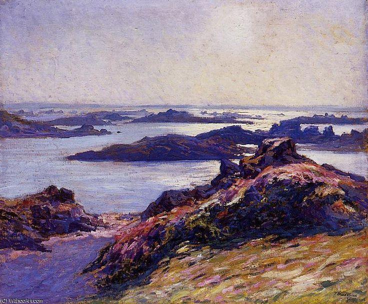 Îlots de Bréhat de Paul Madeline (1863-1920, France)
