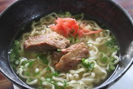 NHK WORLD TV | Your Japanese Kitchen | >Soki Soba (Okinawan Noodles with Spare Ribs)