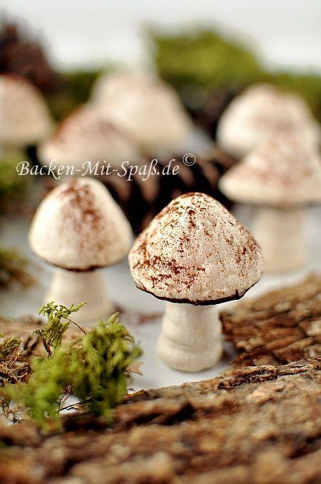 Baiser- Pilze