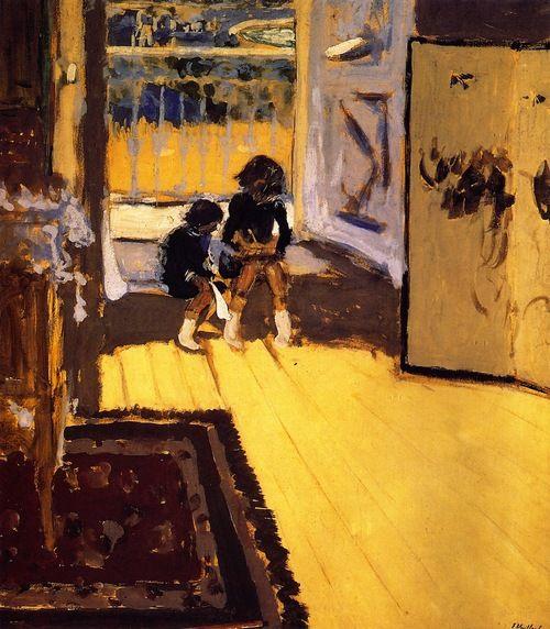 Children in a Room, 1909 / Edouard Vuillard