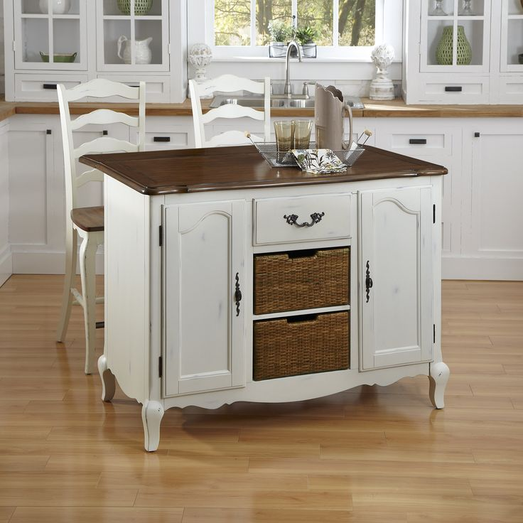 good Wayfair Kitchen Island #8: French Countryside Kitchen Island | Wayfair