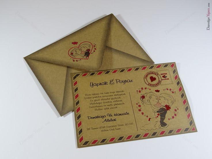 İklim wedding 8298 davetiye düğün wedding invitation