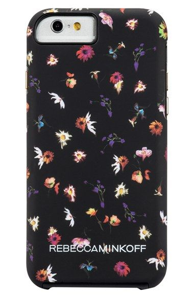 Free shipping and returns on Rebecca Minkoff x Case-Mate Printed iPhone 6 Case at Nordstrom.com. Known for their finely crafted and stylized tech accessories, Case-Mate teams up with renowned fashion designer Rebecca Minkoff to bring an exclusive collaboration of playful and edgy designs straight from the runway. Rebecca Minkoff's signature pressed-flower print lends a touch of whimsical sophistication to a rigid, silicone-lined case designed to protect your iPhone from scuffs and scratches.