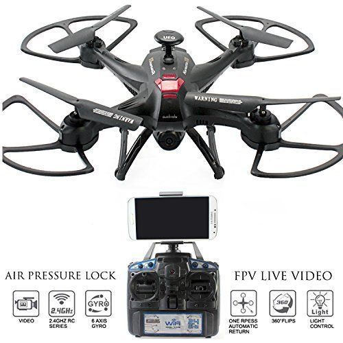 Drone Navigator FPV Real Time w/ VR Return Home Key Headless Mode Attitude Lock #DroneCamera