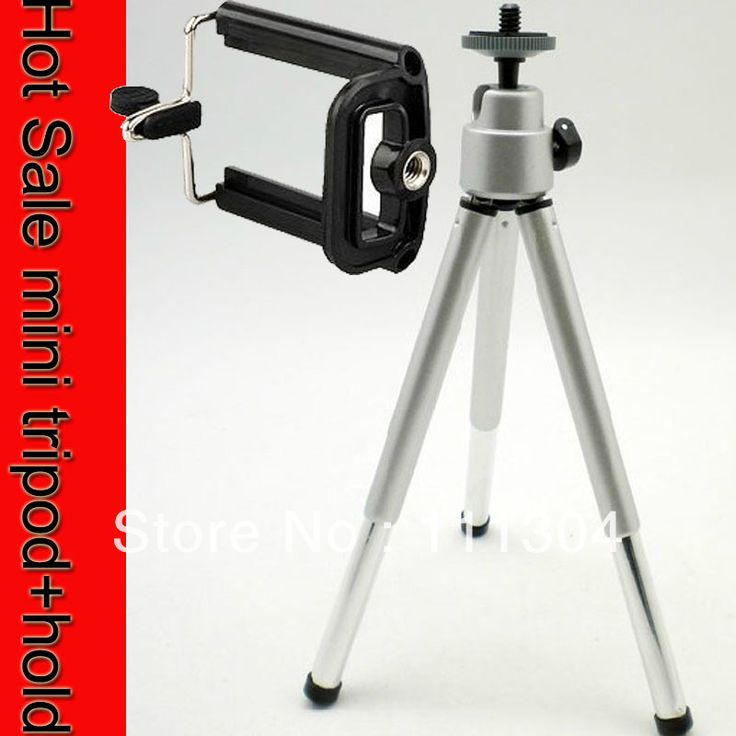 10set /lot Hot Sale Mini Tripod + Stand Holder for Mobile Cell Phone Camera Phone 4 4g 5 5G Samsung galaxy S2 S4 i9200 I9500