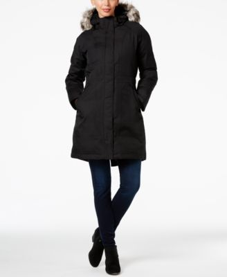 The North Face Arctic Down Parka $299.00 The North Face's Arctic parka keeps you warm throughout the season with cozy down insulation. This high-performance coat gears you up for a life outdoors!