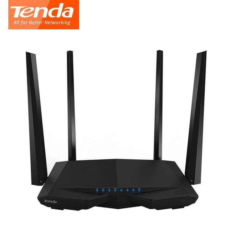 Tenda AC6 Wireless WiFi Router, 1200Mbps 11AC Dual Band Wi-Fi Repeater 802.11ac WPS WDS App Control PPPoE, L2TP English Firmware //Price: $35.60//     #Gadget