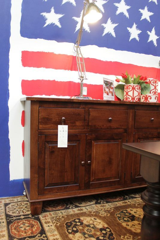 Made In America Solid Wood Furniture Will Look Great In Your Home. We Take  Custom