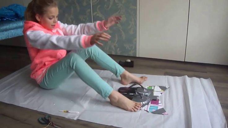 Zeemeermin staart zelf maken [ DIY:  HOW TO MAKE YOUR OWN MERMAID TAIL ]