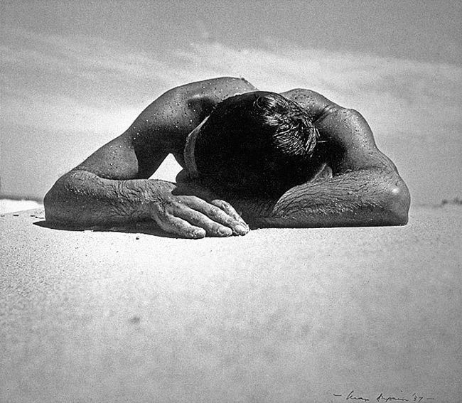 Iconic Australian Photo The Sunbaker by Max Dupain