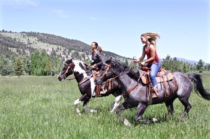 Eva LaRue Glamping in Montana at The Ranch at Rock Creek - discover.luxury