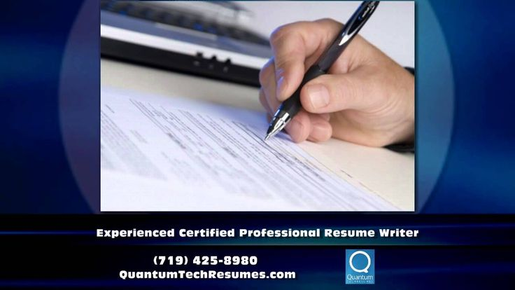 If you are interested in getting good job in IT sector then you - certified professional resume writer