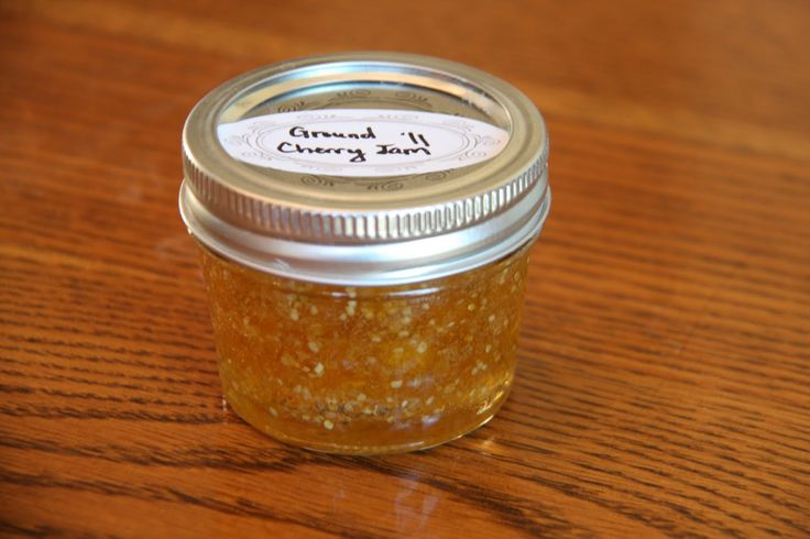 Lapacek's Orchard LLC: Ground Cherry Jam