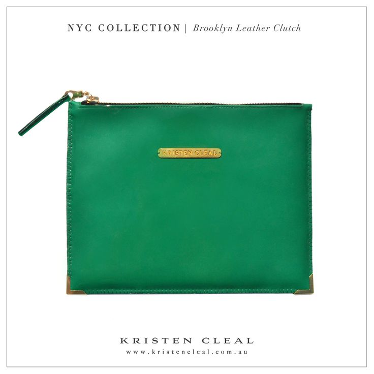 Brooklyn Patent Leather Clutch by Kristen Cleal Designs  Shop our online store at www.kristencleal.com.au