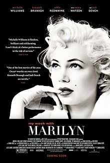 My Week with #Marilyn. #Movies #Films. Superb acting. A reality check-in life of the iconic figure. Tragic & True.