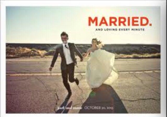 Secret Wedding Announcement Elopement