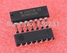 4.99$  Watch now - Free Shipping One Lot 3pcs 74HC132 74132 74HC132N Quadruple 2-Input NAND Schmitt Trigger DIP-14   #aliexpressideas