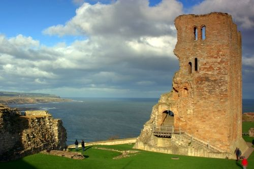 Scarborough Castle, North Yorkshire. Owned by English Heritage