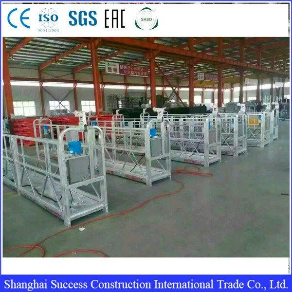 Provide oem gondola swing stage| suspended scaffolding platform| suspended platform     More: https://www.ketabkhun.com/platform/provide-oem-gondola-swing-stage-suspended-scaffolding-platform-suspended-platform.html
