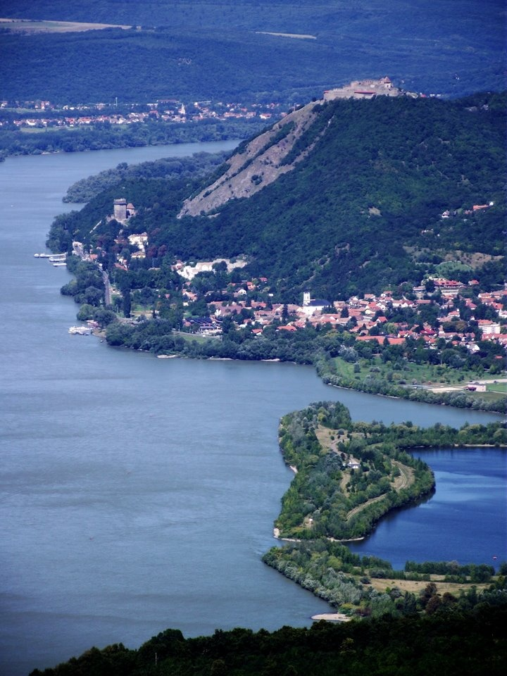 The Danube Bend, Near Visegrad, Hungary.