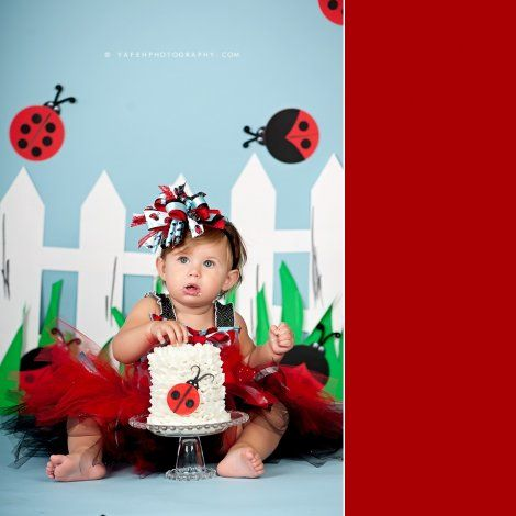 Adorable  smash cake photos | #BabyCenterBlog