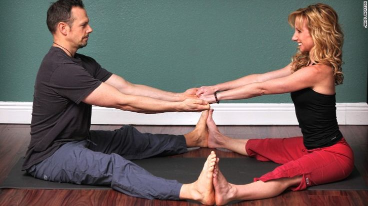 Partner Yoga Doubles The Pleasure And Reduces Stress