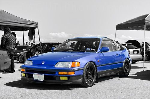 Honda CRX love the blue