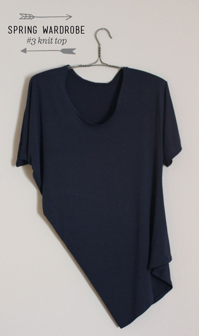 Spring Wardrobe - No. 3 Drape Drape Top — Sew DIY
