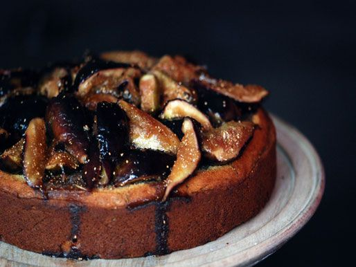 Rosemary/Fig cake.  We have an abundance of both these things at home right now, so I'll get to this shortly.  Edit:  made on 17 July 2012.  It is DELICIOUS. So, so delicious.