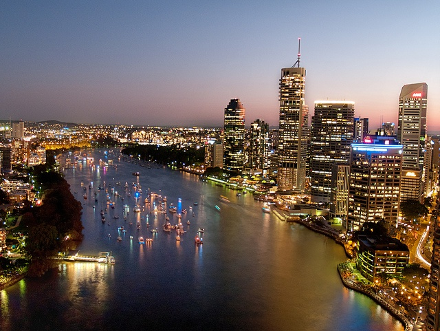 "This is another one from my ""lost"" files!  This one is from September 2009, taken from a friends apartment while we there for the Brisbane Riverfire festival"