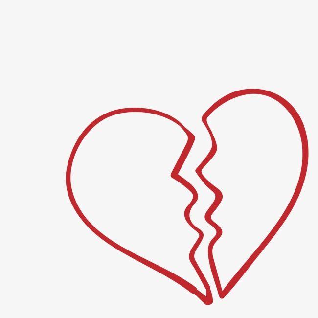 Broken Heart Heart Clipart Heart Shaped Broken Png Transparent Clipart Image And Psd File For Free Download Broken Heart Art Broken Heart Images Broken Heart Tattoo
