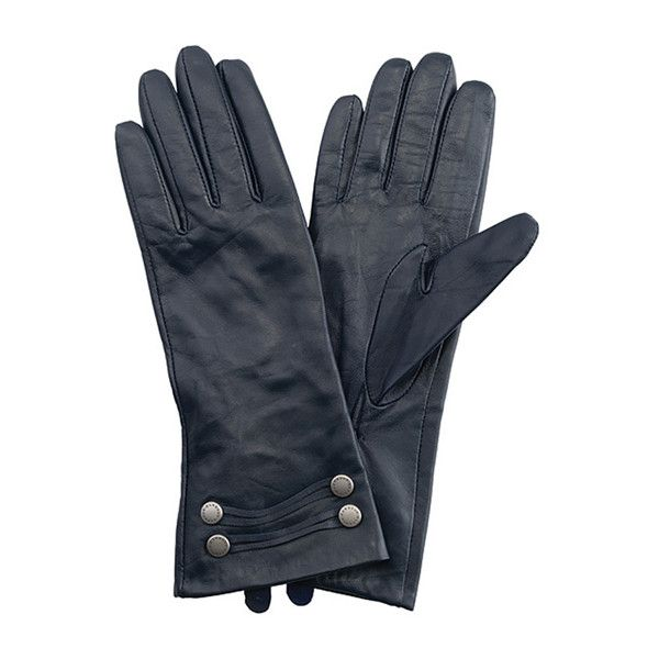 Barbour Squadron Gloves ❤ liked on Polyvore featuring accessories, gloves, studded gloves, barbour gloves, barbour, lambskin gloves and military gloves