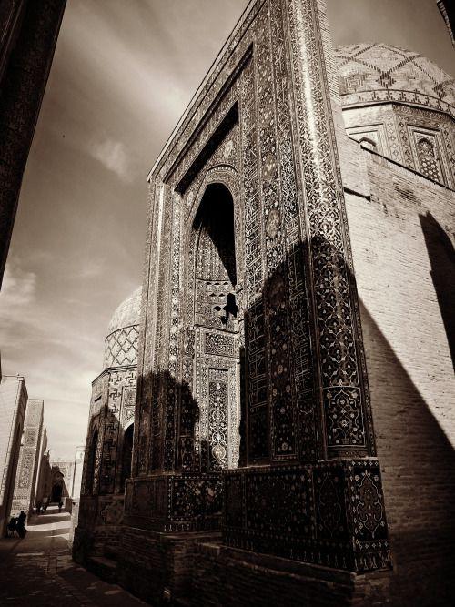 Uzbekistan - Shah-i-Zanda mosque in Samarkand