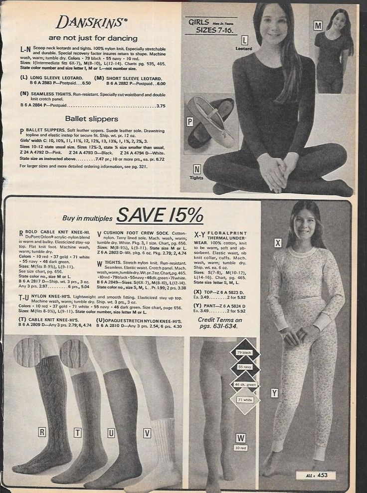 Tiny Lot of Vintage Catalog Pantyhose Tights Photo Clippings • $51.00 - PicClick