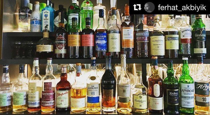 Evlerde ne cevherler gizliymiş!! #viskilerim oyunumuz müthiş fotoğraflarla devam ediyor -------- #Repost @ferhat_akbiyik (@get_repost)  Some Whisky&Whiskey Collection  #viskilerim @meleklerin_payi  #whisky #whiskey #selection #collection #viski #elegant #edel #best #art #lifestyle #qualitytime #reallife #drinks #enjoy