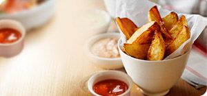 Food Optimising is a chip-lovers dream - it allows you to eat unlimited potatoes - boiled, mashed, baked, roasted. You can even enjoy unlimited chips - provided you follow our low fat way of cooking these great family favourites.