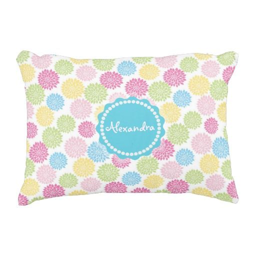 Colorful Pastel dahlia flowers pattern name